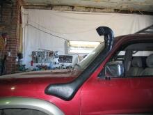 Patrol Y61 2010.06.17 защита, шноркель, подножки_5