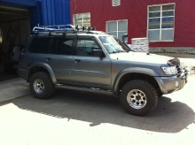 Patrol Y61 2011.03.03 подвеска, лебедка, пороги, шноркель, защита, коляски_15