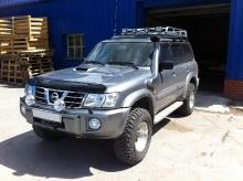 Patrol Y61 2011.03.03 подвеска, лебедка, пороги, шноркель, защита, коляски