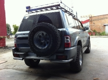 Patrol Y61 2011.03.03 подвеска, лебедка, пороги, шноркель, защита, коляски_21