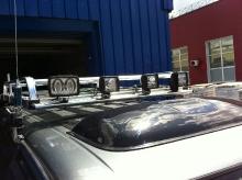 Patrol Y61 2011.03.03 подвеска, лебедка, пороги, шноркель, защита, коляски_25